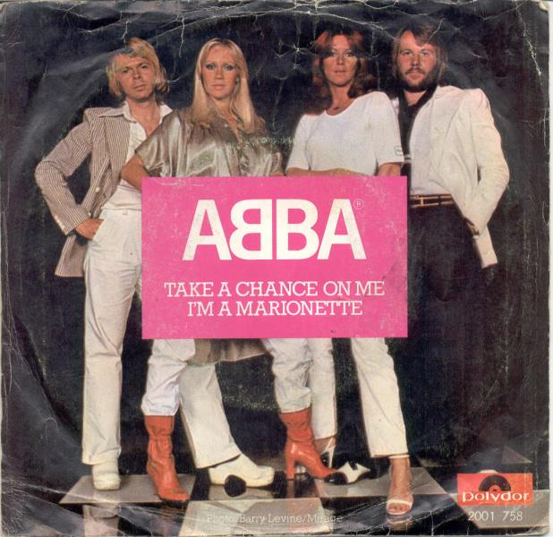 ABBA Take+A+Chance+On+Me+I'm+A+Marionette(Holland+1977+7''+Full+Ps) 45:PICSLEEVE