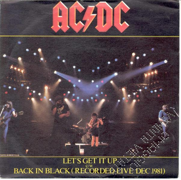 Ac/Dc Let^S+Get+It+Up(Italian+1981+7''+Promo+Full+Ps) 45:PICSLEEVE