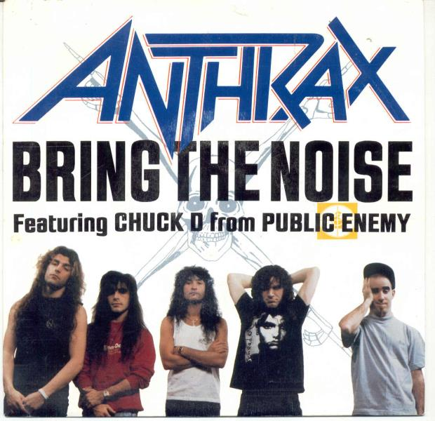 Anthrax Bring+The+Noise(Spanish+1991+1-Sided+7''+Promo+Unique+Ps) 45:PICSLEEVE