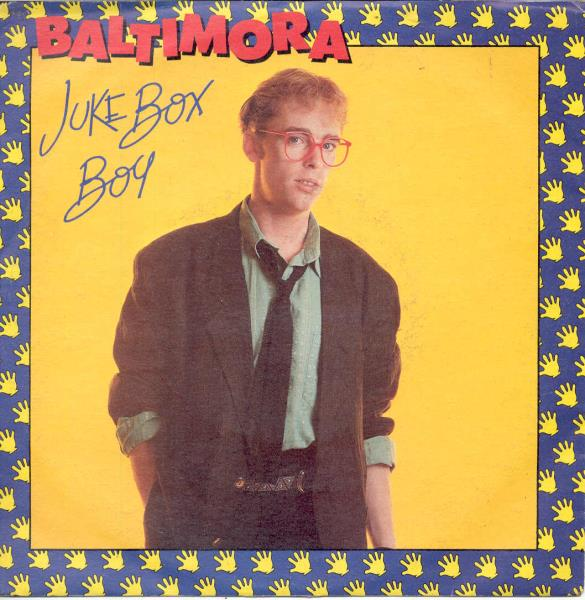 Baltimora Juke Box Boy(Italian 1986 7'' Full Ps) 45:PICSLEEVE