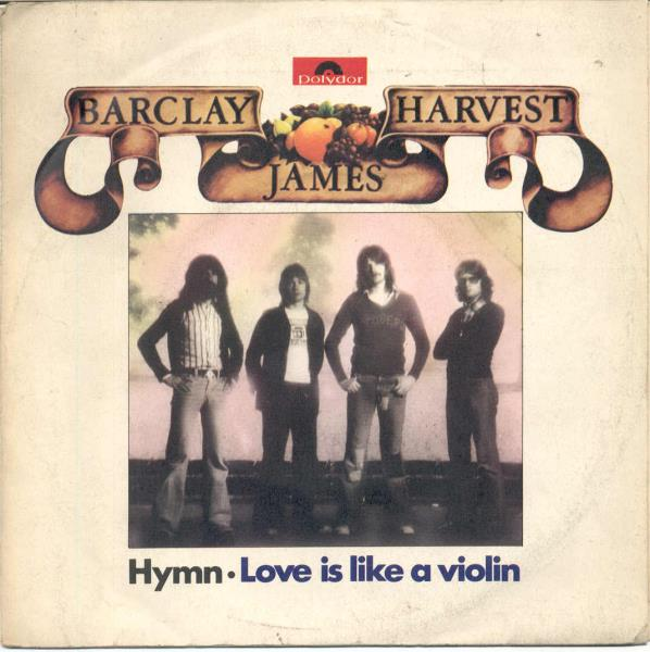 Barclay,James Harvest Hymn(Italian 1977 2-Trk 7'' Unique Ps) 45:PICSLEEVE