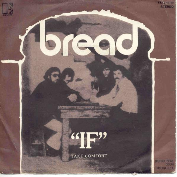 Bread If+(Italian+1971+7''+Unique+Ps) 45:PICSLEEVE