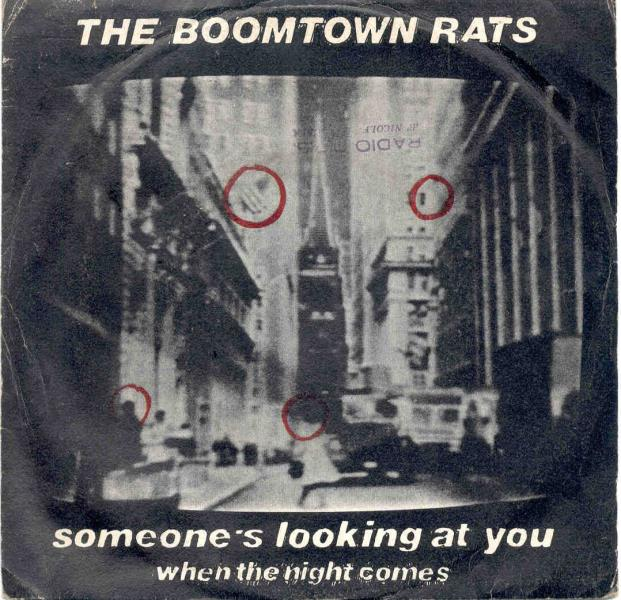 Boomtown Rats Someone's+Looking+At+You(Italian+1979+7''+Full+Ps) 45:PICSLEEVE