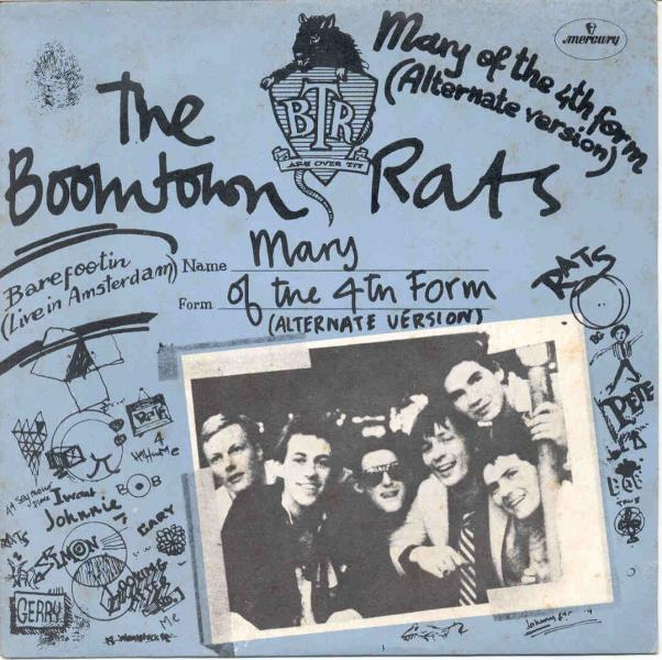 Boomtown Rats Mary+Of+The+4th+Form(Italian+1977+7''+Full+Ps) 45:PICSLEEVE