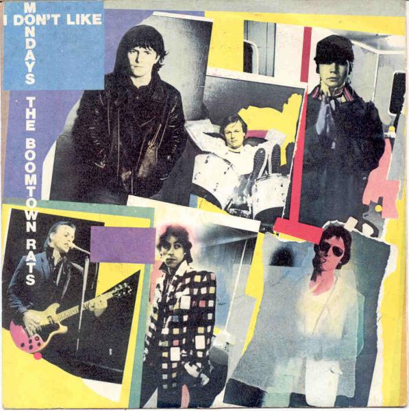 Boomtown Rats I+Don^T+Like+Mondays(Italian+1979+7''+Full+Ps) 45:PICSLEEVE