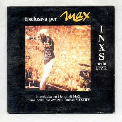 Inxs Esclusiava Per Max Inxs Inediti Live(Italian 1991 Promo-Only 4-Trk Cd Unique Car CD
