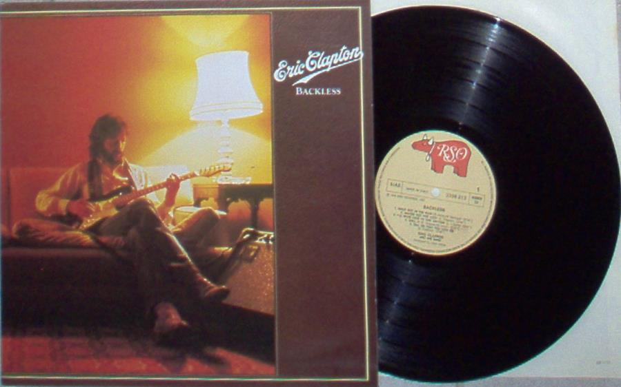 Clapton,Eric Backless(Italian+1978+10-Trk+Lp+Full+Gf+Ps) LP