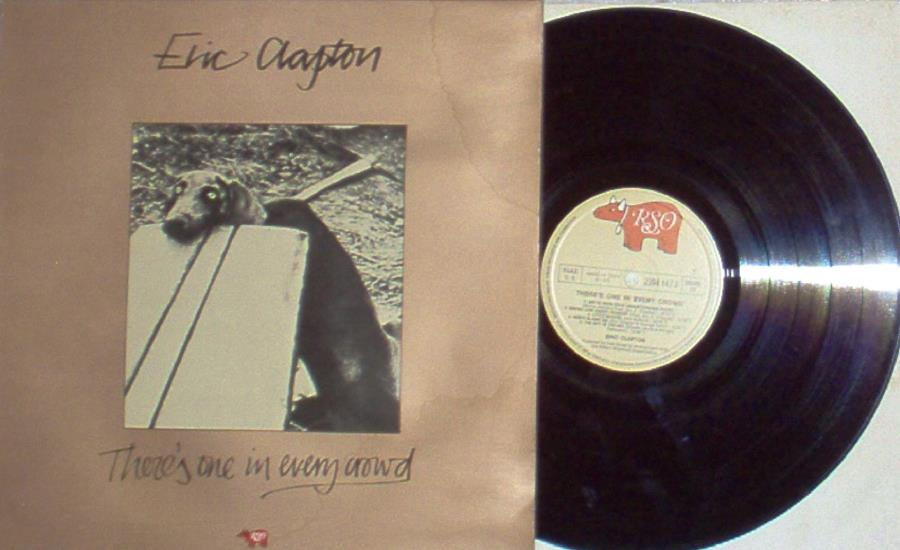 Clapton,Eric There's+One+In+Every+Crowd(Italian+1975+10-Trk+Lp+Ps+And+Inner+Slv) LP