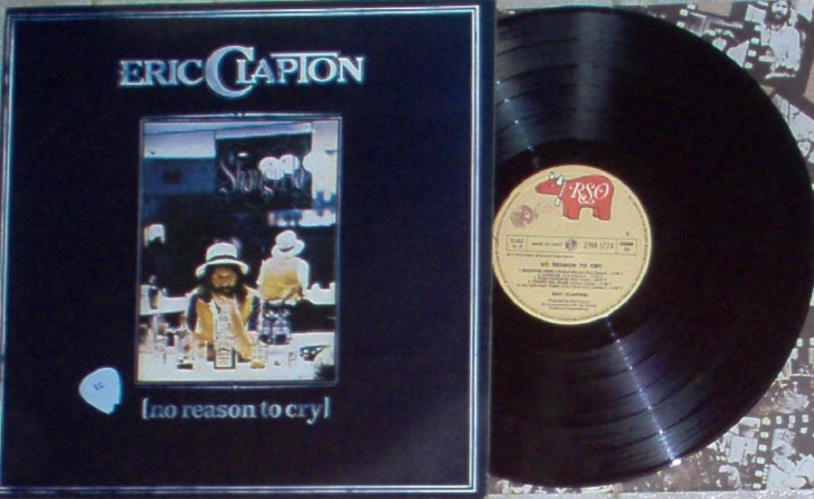 Clapton,Eric No+Reason+To+Cry(Italian+1976+10-Trk+Lp+Full+Ps+And+Inner+Slv) LP