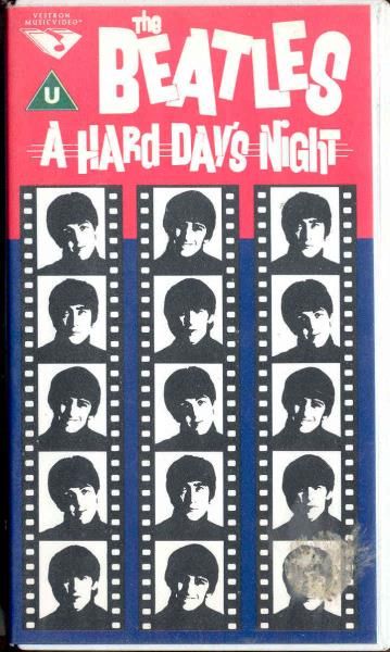 Beatles Hard+Day's+Night(Holland+Original+Video+Vhs+Great+Ps) VIDEO:PAL(EUR)