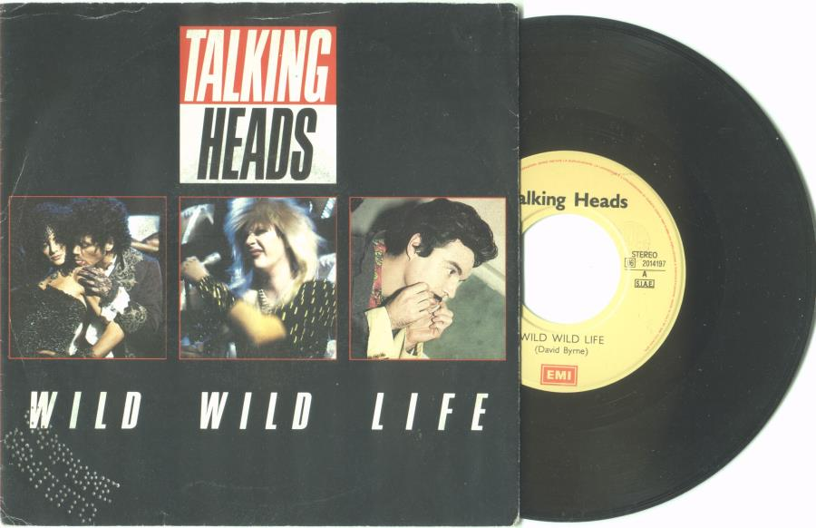 Talking Heads Wild+Wild+Life(Italian+1986+2-Trk+7''+Promo+Single+Full+Ps) 45:PICSLEEVE