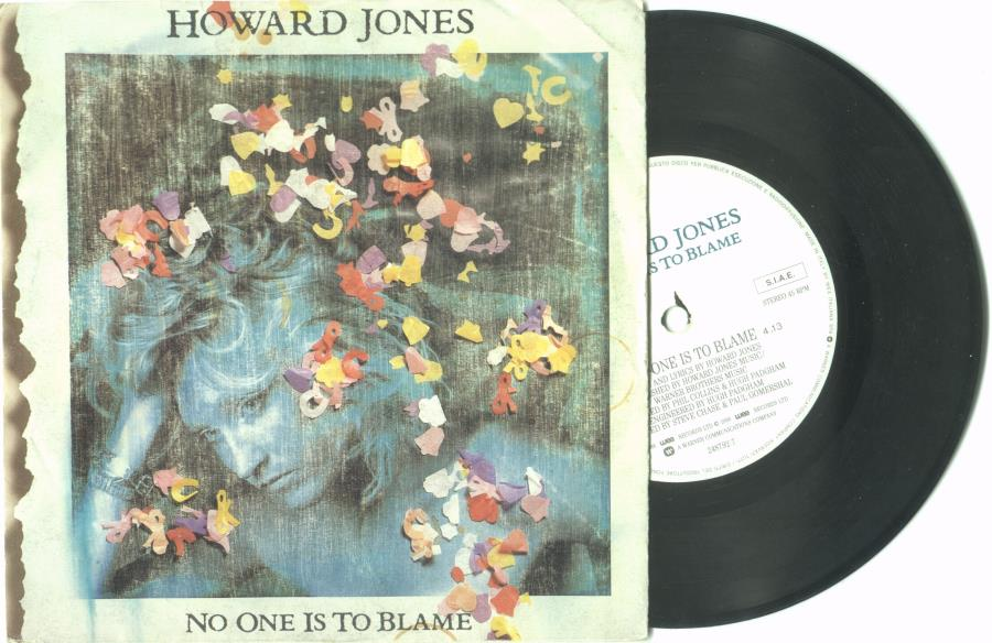 Jones,Howard No+One+Is+To+Blame(Italian+1986+2-Trk+7''+Single+Full+Ps) 45:PICSLEEVE