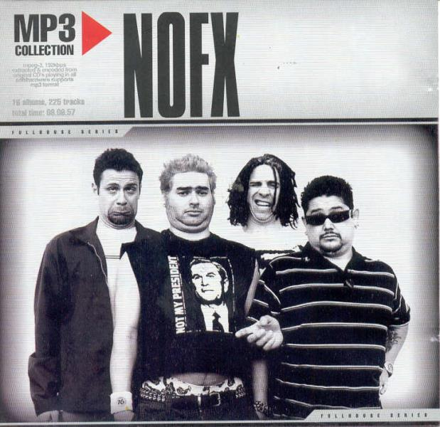 Nofx Mp3 Collection(Russian 2005 Ltd Cd-Rom Unique Ps) CDROM
