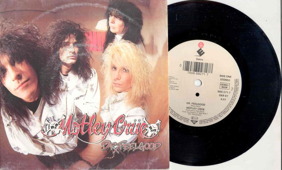 Motley Crue Dr.+Feelgood(German+1989+2-Trk+7''+Single+Full+Ps) 45:PICSLEEVE