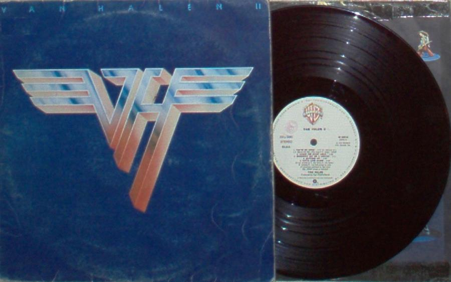 Van Halen Van+Halen+Ii(Italian+1979+10-Trk+Lp+Ps+And+Inner+Slv) LP