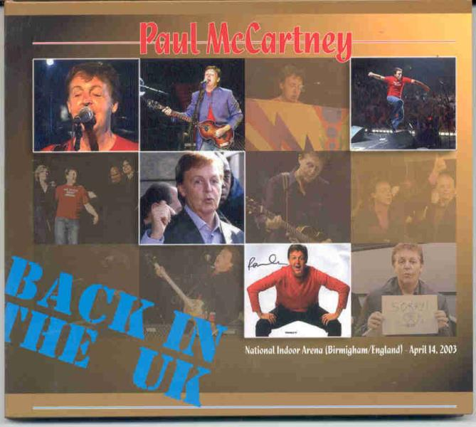 McCartney,Paul Back In The Uk(Birmingham National Indoor Arena 14 April 2003) CD