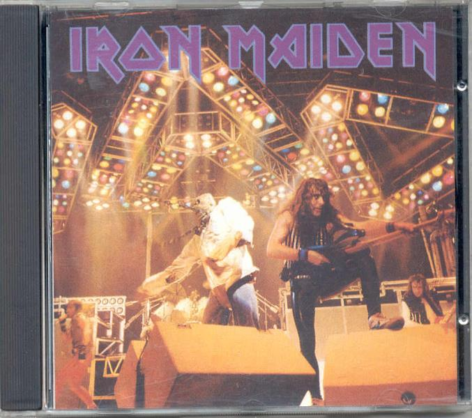 Iron Maiden Wasted Tapes(Reading Festival 23.8.80+Dortmund Festival 18.12.83 Etc.) CD