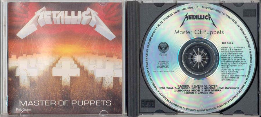 images of Master of puppets(argentina 1989 8-trk cd album on vertigo-phonogram lbl ps) VERTIGO-PHONOGRAM