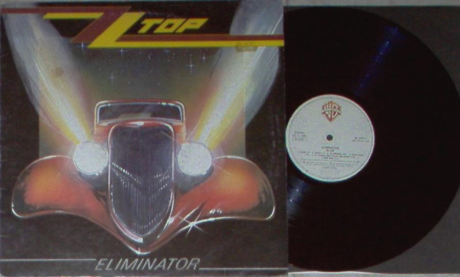 Zz Top Eliminator(Italian+1983+11-Trk+Lp+Ps+And+Inner+Slv) LP