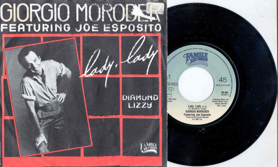 Moroder,Giorgio Lady+Lady(Holland+1983+2-Trk+7''+Single+Full+Ps) 45:PICSLEEVE
