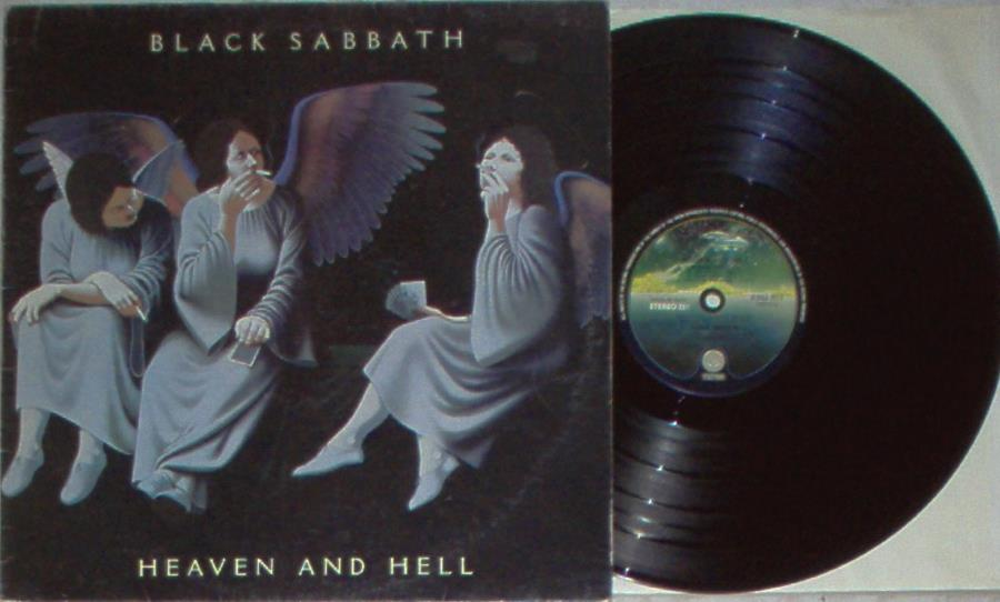 images of Heaven and hell(italian 1980 8-trk lp on spaceship vertigo lbl full ps) VERTIGO