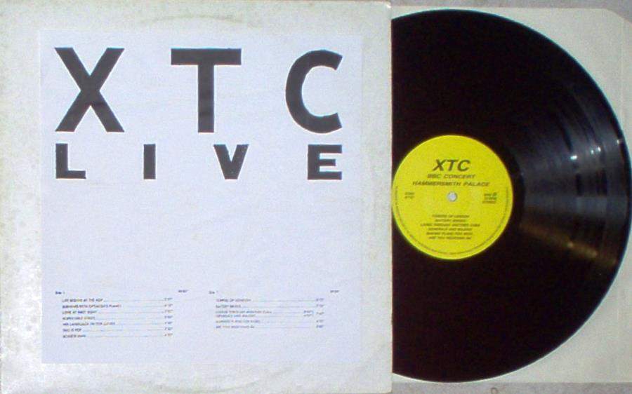 Xtc Xtc Live(Bbc Concert Hammersmith Palace) LP