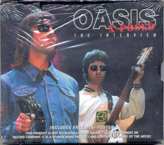 Oasis X-Posed The Interview(Uk 2002 Ltd Cd On Chrome Dreams Lbl Unique Card Box Ps And CD