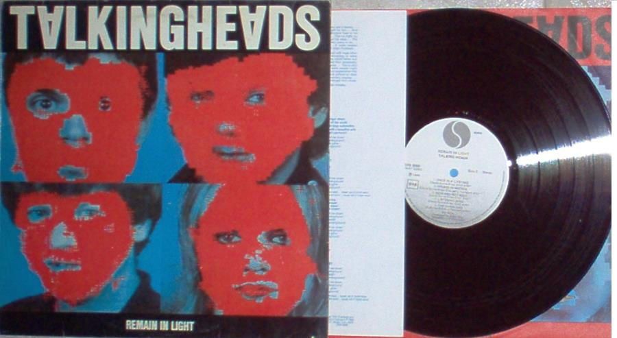 Talking Heads Remain+In+Light(Italian+1980+W/Label+8-Trk+Lp+Promo+Full+Ps+And+Inner+Slv+And+In LP