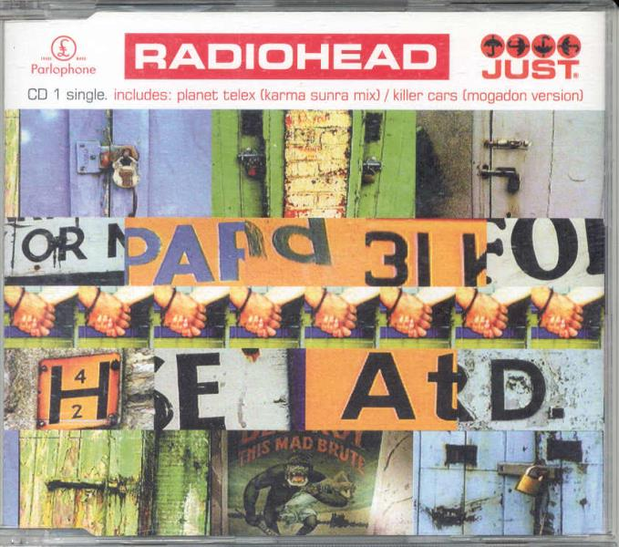 Radiohead Just(Uk+1995+Ltd+4-Trk+Cd1+Full+Ps) CD:SINGLE