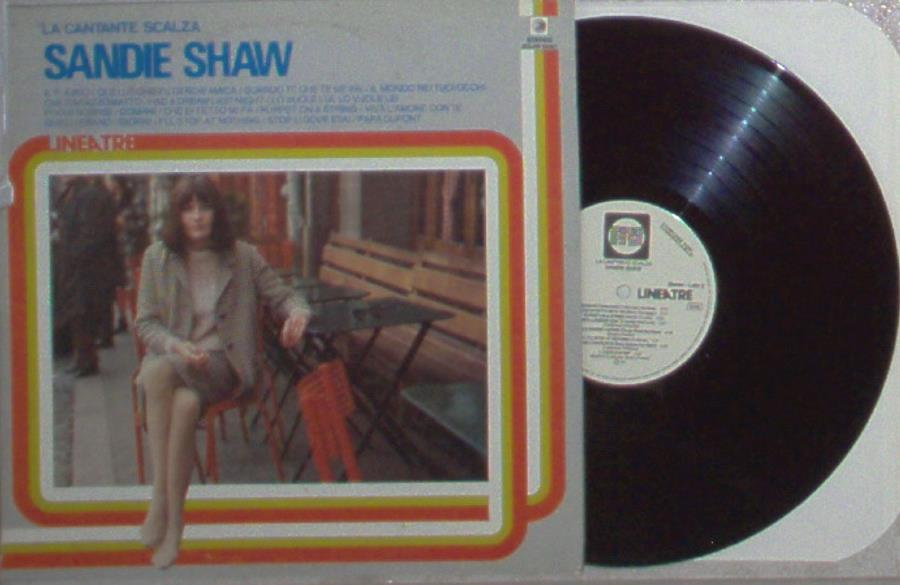 Shaw,Sandie La Cantante Scalza(Italian 1984 16-Trk W/Label Lp Promo Unique Ps) LP