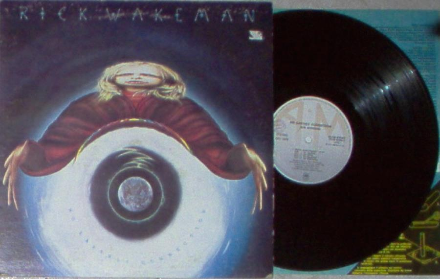 Wakeman,Rick No+Earthly+Connection(Italian+1976+7-Trk+Lp+Ps+And+Inner+Slv) LP