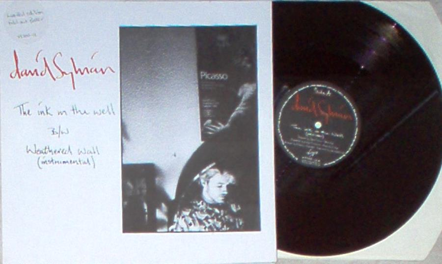 Japan / David Sylvian Ink In The Well(Uk 1984 Ltd 2-Trk 12'' Full Poster Ps) 12''