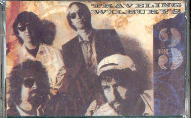 Traveling Wilburys Vol.3(Italian+11-Trk+Cassette+Album+Full+Ps-Sealed) CASSETTE