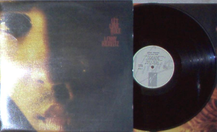 Kravitz,Lenny Let+Love+Rule(Yougoslavia+1989+10-Trk+Lp+Ps+And+Inner+Slv) LP