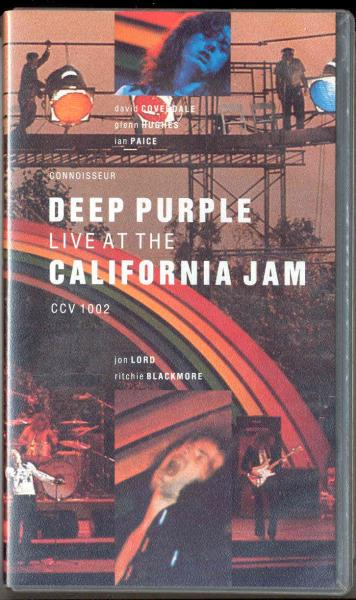 Deep Purple Live At The California Jam(06.04.1974)(Uk 1991 Full Vhs Video Unique Ps) VIDEO:PAL(EUR)