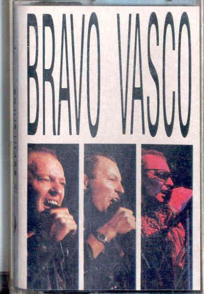 images of Bravo vasco(italian 1987 10-trk cassette album full ps) FONIT CETRA