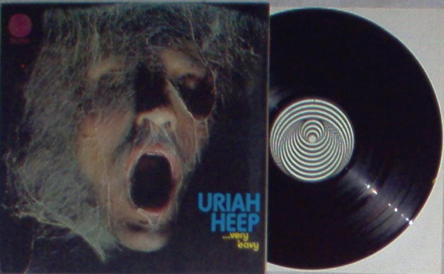 images of Very 'eavy very' umble(italian 1970 original 8-trk lp on 'swirl' vertigo lbl gat VERTIGO