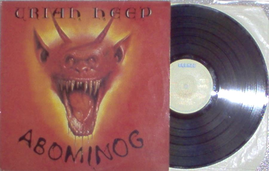 Uriah Heep Abominog(Uk+1982+10-Trk+Lp+Full+Ps) LP