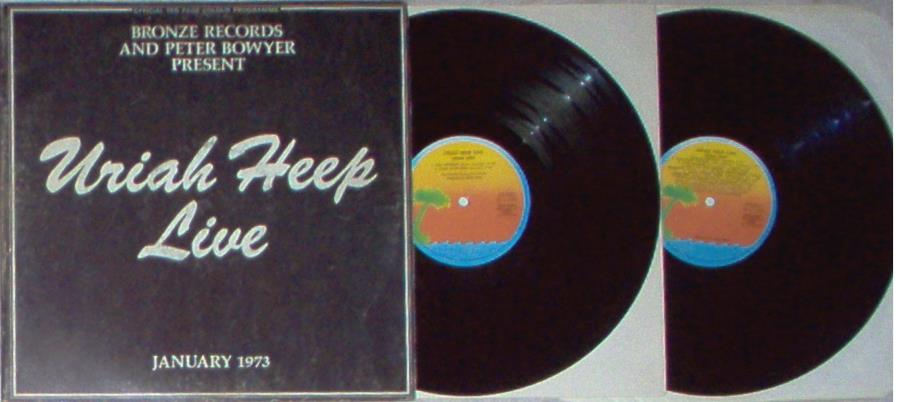 Uriah Heep Live(Italian+1973+Original+2lpset+Gf+Ps+And+Booklet) LP