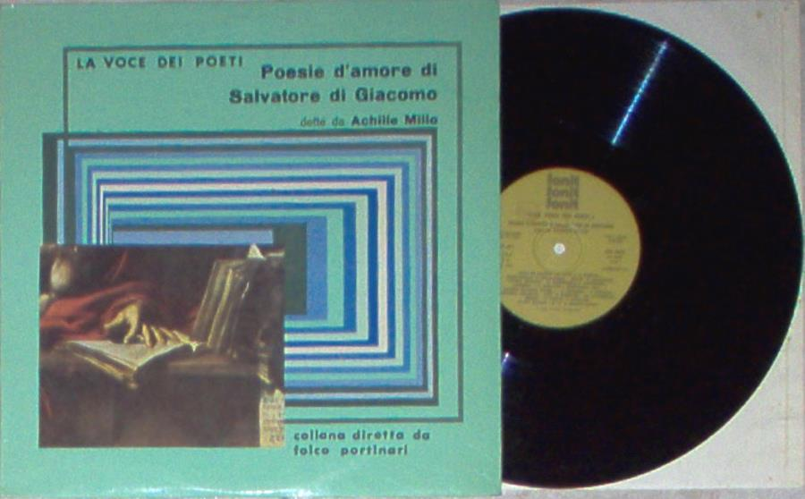 images of Poesie d'amore di salvatore di giacomo(italian 1977 lp full ps) FONIT CETRA