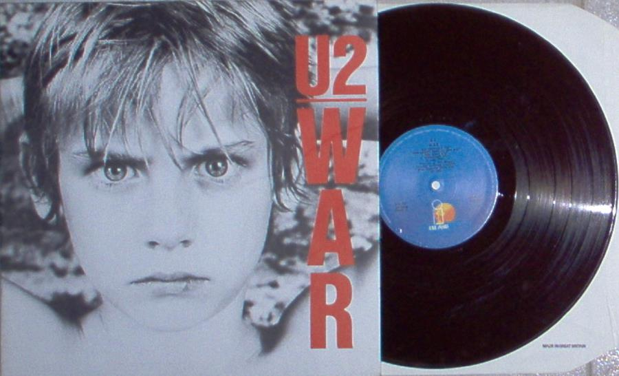 U2 War(Portugal+1983+10-Trk+Lp+Full+Gf+Ps) LP