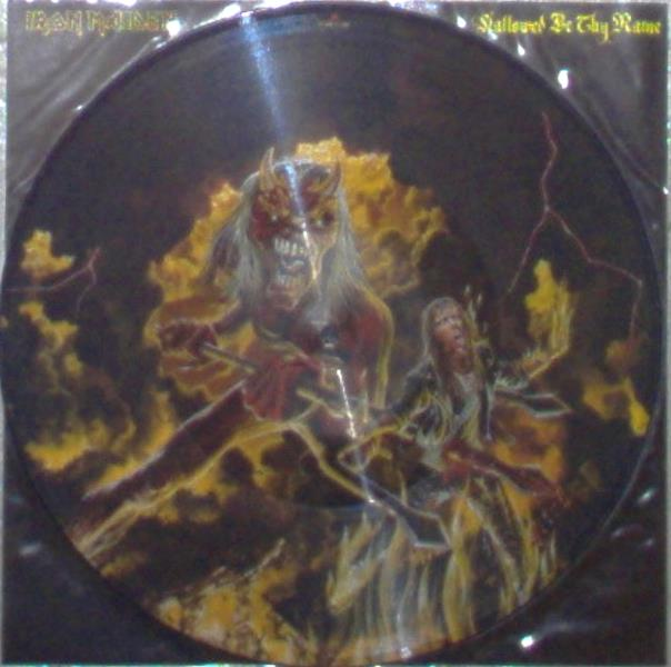 Iron Maiden Hallowed By The Name(Uk 1993 Ltd 3-Trk 12'' Picture Disc Pvc Slv And Insert) 12''