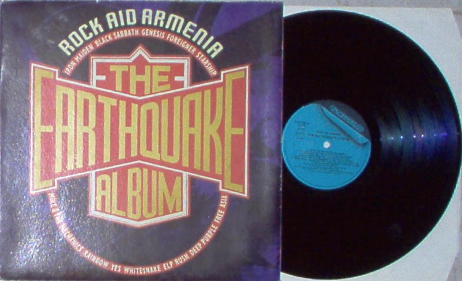 images of Rock aid armenia(italian 1990 ltd 13-trk v a lp on fonit cetra lbl gatefold ps) FONIT CETRA