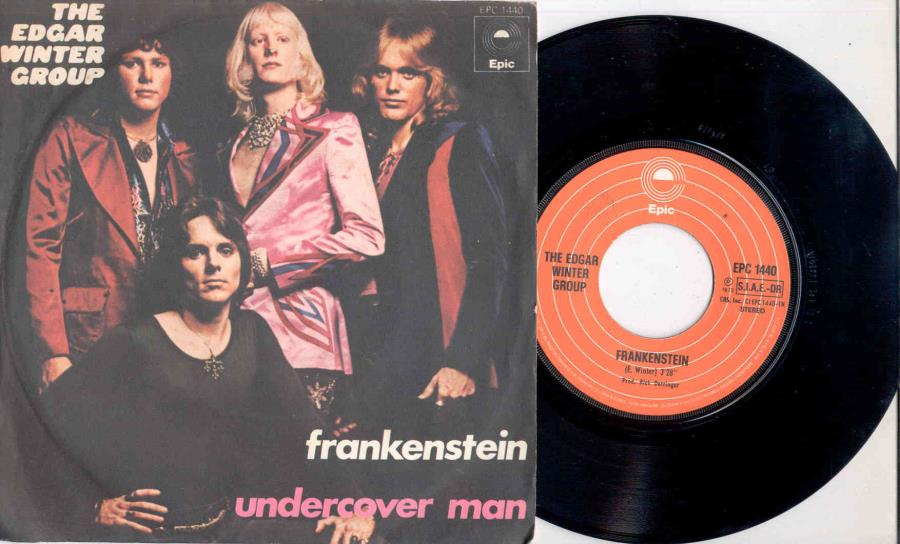 Edgar Winter Group Frankenstein(Italian+1973+2-Trk+7''+Single+Full+Great+Unique+Ps) 45:PICSLEEVE