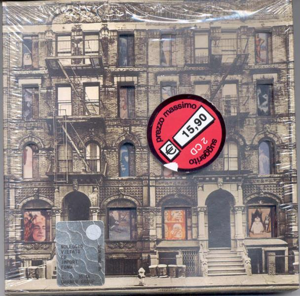 Led Zeppelin Physical+Graffiti(German+Ltd+'Digitally+Remastered'+15-Trk+2cd+'Gimmick'+Ps+And CD