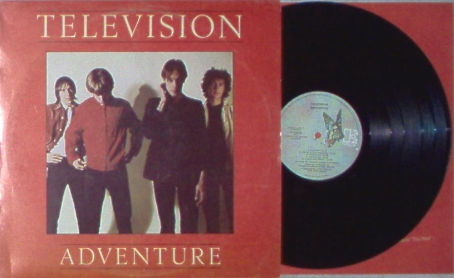 Television Adventure(Italian+1978+8-Trk+Lp+Full+Ps+And+Inner+Slv) LP