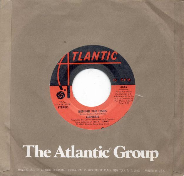 images of Behind the lines(usa 1980 2-trk 7 single atlantic slv) ATLANTIC