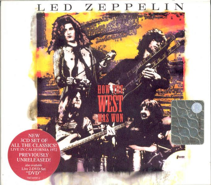 Led Zeppelin How+The+West+Was+Won(German+2003+Ltd+18-Trk+3cd+Set+Gf+Digipack+Stickered+Ps) CD