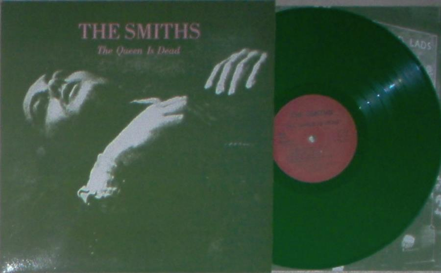 Smiths Queen Is Dead(Poland Ltd Re 10-Trk Lp Green Vinyl Full Single Ps And Inner Slv) LP