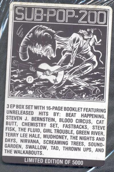 Sub Pop 200 Vinyl Soundgarden Sub Pop 200 Usa